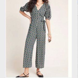 Anthropologie Evie Abstract jumpsuit 10, NWT